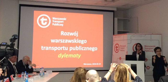 Jesteśmy w Radzie Warszawskiego Transportu Publicznego